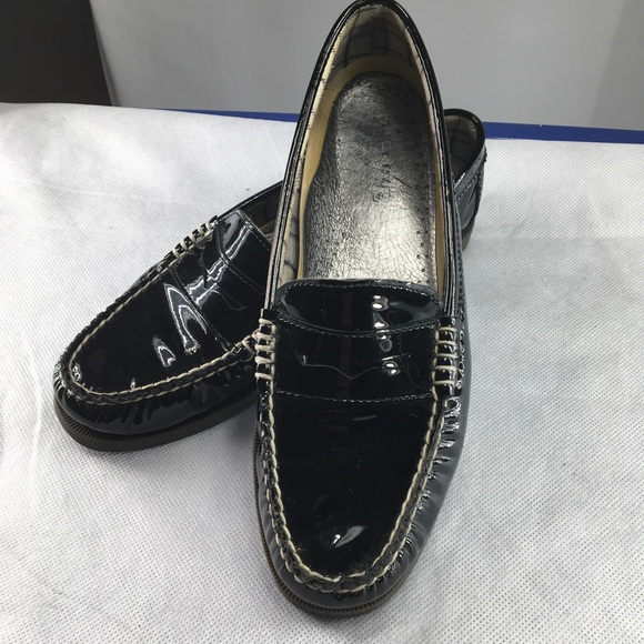 2ac9363f674 Sperry patent leather loafers. M 59b78d8336d5948dfc0017d3