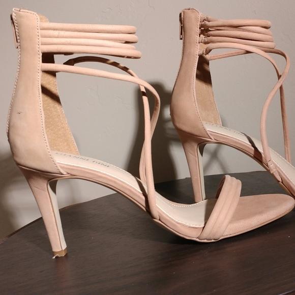 2a9d9c5f1b62 Gianni Bini Shoes - Gianni Bini Noreena Nude Strappy Sandal