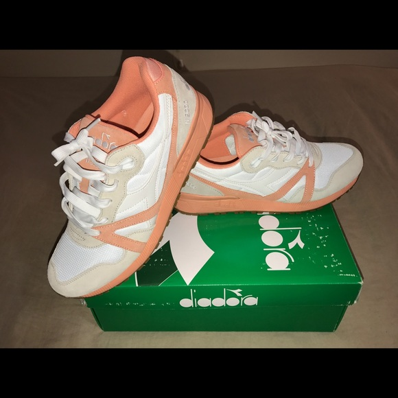 Diadora Other - Diadora N9000 III - White Peach Pink - Men s 9.5 5781d3f85