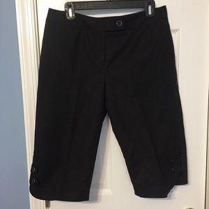 EUC Rafaella black shorts