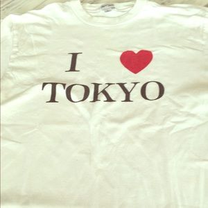 BOUGHT IN TOKYO I Love Tokyo T-shirt
