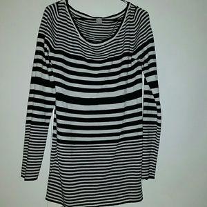 Striped Long Sweater