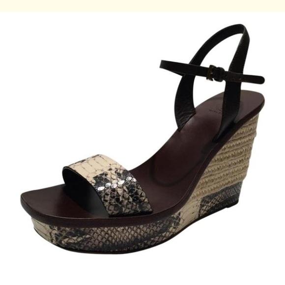 0dbe63498 Tory Burch New Malaga Wedge Platform Sandals