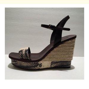 de984534a Tory Burch Shoes - Tory Burch New Malaga Wedge Platform Sandals