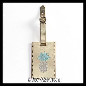 LC Lauren Conrad Pineapple Luggage Tag