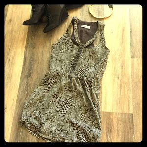 Urban Outfitters Giraffe Racerback Mini Dress