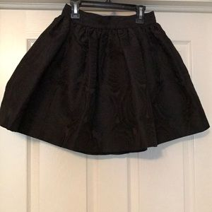 Kate Spade rose print jacquard cupcake skirt