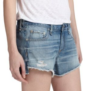 Rag & Bone Chesapeake denim shorts 24