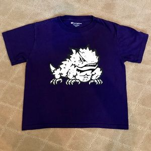 Youth S Texas Christian TCU Horned Frog T-shirt