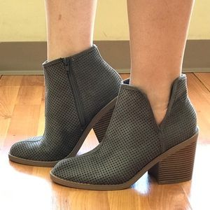 Shoes - Adorable Gray Booties