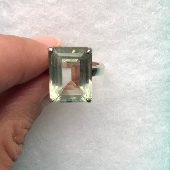 83ba337b4 Tiffany Sparklers Size 6 Green Quartz Ring. M_59b7fdbef0137d241100ed0f