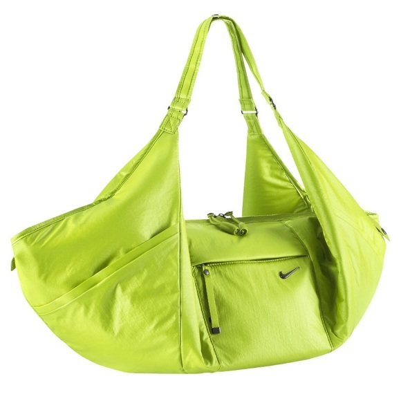 Lime green Nike gym bag. M 59b7fefdd14d7b05bb00f85d d18fe2e24
