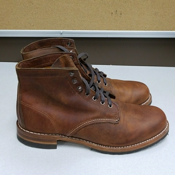 557784b3037 Wolverine Men's Mile Evans Leather Boot. NWT