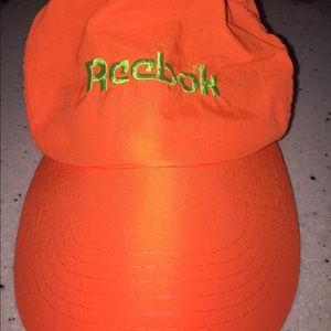 Retro Reebok hat.