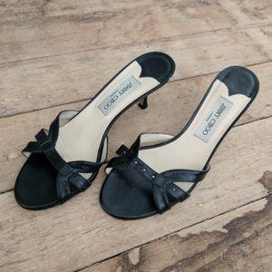 Jimmy Choo Kitten Heel Sandals