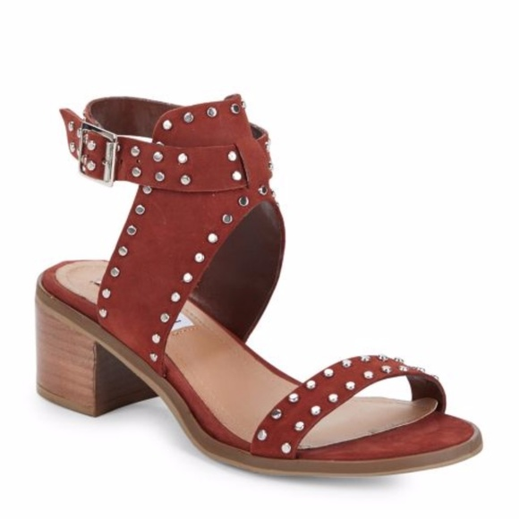 791f4ba9ad63f1 Sold Out Steve Madden Gila Leather Studded Sandals