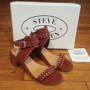 d0d1312e341ea7 Steve Madden Shoes - Sold Out Steve Madden Gila Leather Studded Sandals