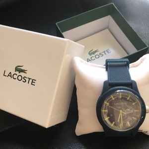Lacoste Navy Resin Watch