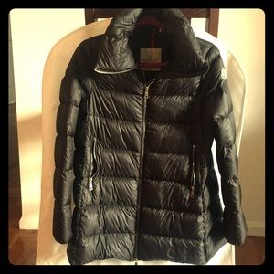 Authentic Moncler Torcyn Wool Lined Puffer Coat