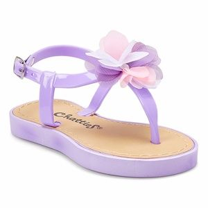 Other - 2x HP Girls Lilac Floral T-Strap Sandal