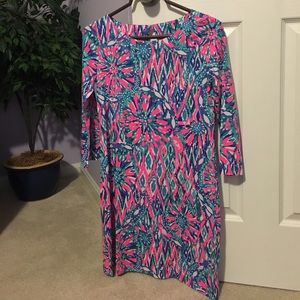 ddca9ac7385 Lilly Pulitzer Dresses - NWT Lilly Pulitzer Tiki Pink Shake it Up Bay Dress