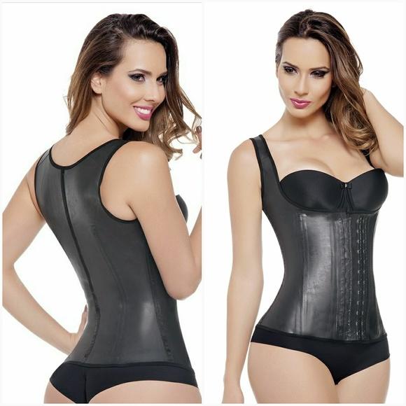 00f5d61123 Colombian latex vest. NWT. Ann Michell