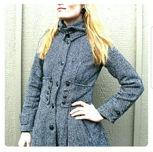 1950s inspired pea coat!