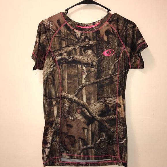 Mossy Oak Tops - Camouflage tshirt