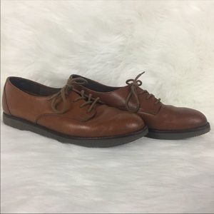 Rockport Brown Leather Pointed Oxford