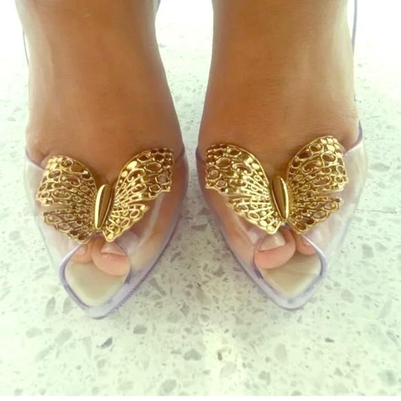 Melissa Cinderella Lady Dragon Clear Heels 5.5. M 59b817c22ba50a8968015bda