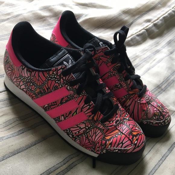 le adidas samoa, edizione limitata di sz 8 donne poshmark