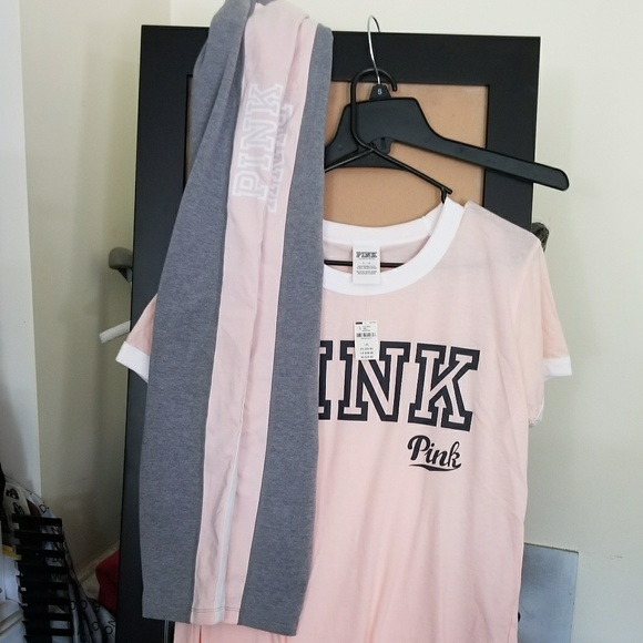 9706b33bea4a0 PINK Victoria's Secret Pants | Vsp Outfit Lg | Poshmark