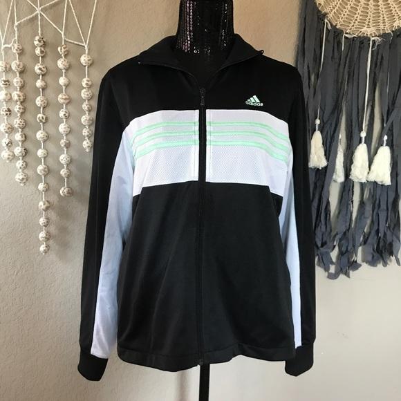 Adidas jackets & Coats lowest price Mint ATHLETIC CHAQUETA poshmark