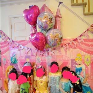 Disney Party Supplies - Disney princess birthday party decorations