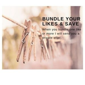 Bundle Your Likes - Receive up to 30% Discount!!