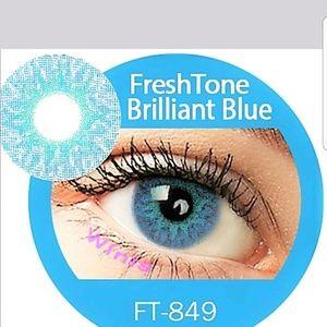 FreshTone Brilliant Blue  Cosmetic Eye Color