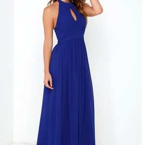 852378cdd05 Lulu s Dresses - OOH GALA-LA ROYAL BLUE MAXI DRESS