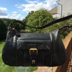 Black Etienne Aigner Shoulder Bag