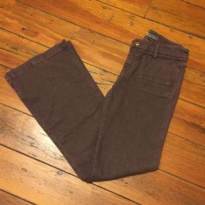 Anthropologie Level 99 Wide Leg Trouser Jeans