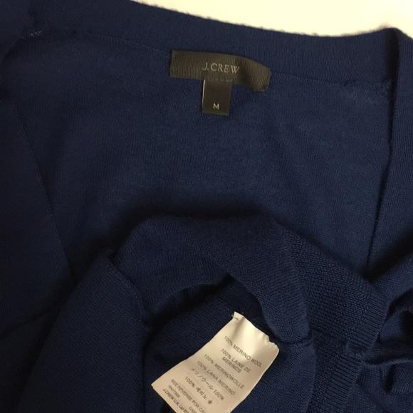 J. Crew Sweaters - J CREW merino wool belted Cardigan sweater