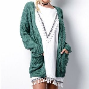 Sweaters - || FALL FOREST || Cable Cardigan ||