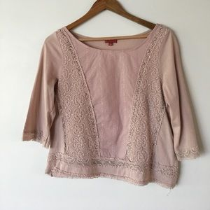 Anthropologie top by One September