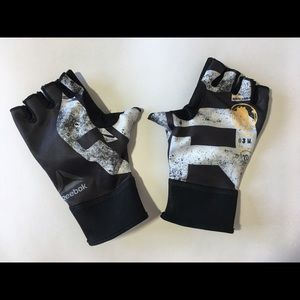 REEBOK Womens Half Gloves Sz S