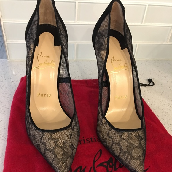 CHRISTIAN LOUBOUTIN Derbis granate