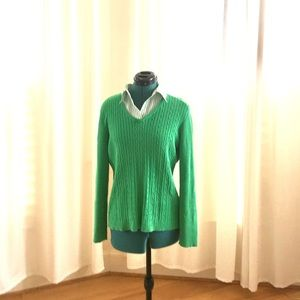 IZOD Sweater with Built in Collar