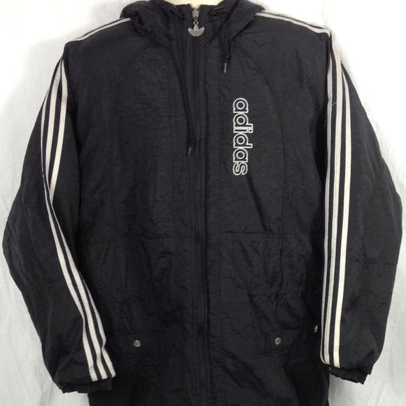 4fd441e54734 adidas Other - Vintage Adidas Heavy Nylon Men s Jacket Size Large