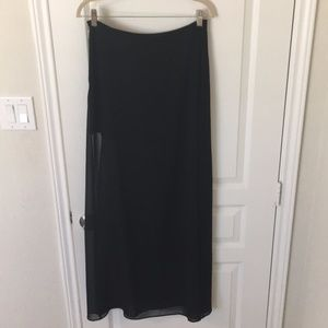 ASOS Maxi Skirt with Wide Slit