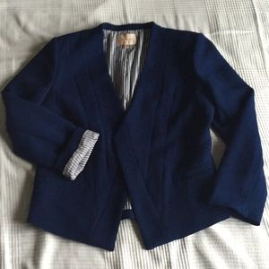 ⚡️SALE Skies Are Blue Rogan Textured Open Blazer