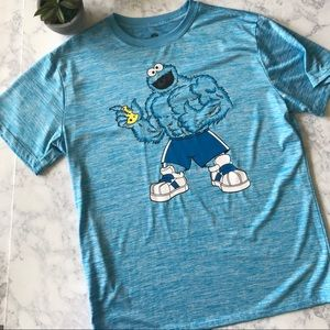 0d1240ef Sesame Street Shirts | Cookie Monster Muscle Tee | Poshmark
