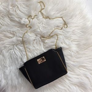 Handbags - Mini Bag with Gold Chain